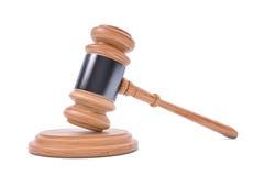 Legge o giudice Concept Hammer Fotografia Stock