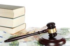 Legge simbolica Immagini Stock Libere da Diritti