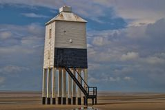 9 legged tower. The tower at Burnham-on-Sea Stock Photos