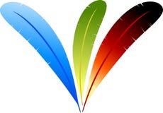 Leggerezza di colore Fotografia Stock