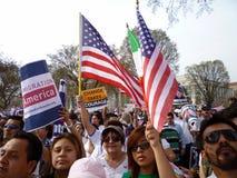 Leggi cambianti di immigrazione Immagini Stock