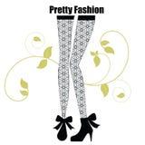 leggings modny wzór Obrazy Royalty Free