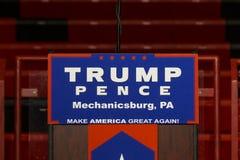 Leggio di penny di Trump Fotografie Stock