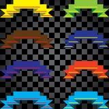 Leghi i colori con un nastro differenti Fotografia Stock Libera da Diritti