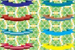 Leghi i colori con un nastro differenti Immagini Stock Libere da Diritti