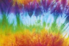 Leghi il modello tinto sul tessuto di cotone per fondo Fotografia Stock