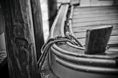 Leghi la barca Fotografia Stock