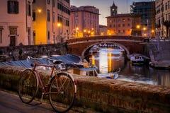 Leghorn, Tuscany, Italy Stock Images