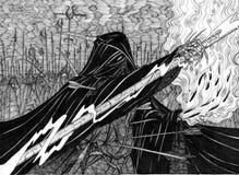 Legião escura ilustração stock