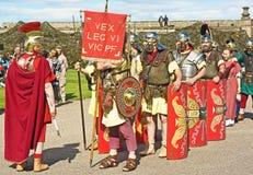 Legião romana. Foto de Stock