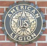 Legión americana del emblema de Estados Unidos Fotos de archivo