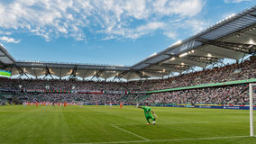Legia华沙体育场 免版税图库摄影