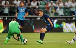 Legia华沙- FC Botosani -欧罗巴同盟资格 免版税库存照片
