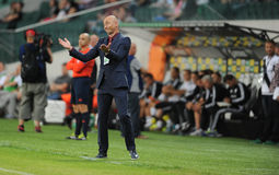 Legia华沙- FC Botosani -欧罗巴同盟资格 免版税库存图片