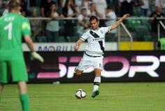 Legia Βαρσοβία - FC Botosani - προσόντα ένωσης της Ευρώπης στοκ εικόνα