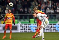 Legia Βαρσοβία - Jagiellonia Bialystok Στοκ Φωτογραφία