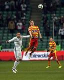 Legia Βαρσοβία - Jagiellonia Bialystok Στοκ εικόνες με δικαίωμα ελεύθερης χρήσης