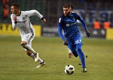 Legia Βαρσοβία - Lech Πόζναν Στοκ Εικόνα