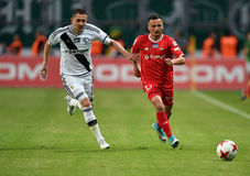Legia Βαρσοβία - Lechia Γντανσκ Στοκ Εικόνες