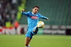 Legia för UEFA-Europaliga Warszawa SSC Napoli Royaltyfria Bilder