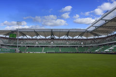 legia stadium in Warsaw Stock Photo