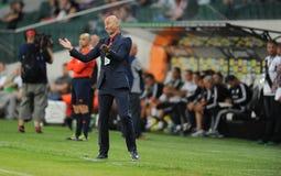 Legia Varsóvia - FC Botosani - qualificações da liga do Europa imagens de stock royalty free