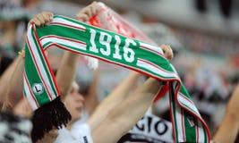 Legia Varsovia - FC Botosani - calificaciones de la liga del Europa Imagen de archivo libre de regalías