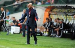Legia Varsovia - FC Botosani - calificaciones de la liga del Europa fotografía de archivo libre de regalías