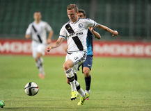 Legia Varsovia - FC Botosani - calificaciones de la liga del Europa fotos de archivo
