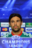 LEGIA WARSAW CHAMPIONS LEAGUE PRESS CONFERENCE. Legia's captain Ivica Vrdoljak pictured during the official press conference held before the UEFA Champions Royalty Free Stock Images
