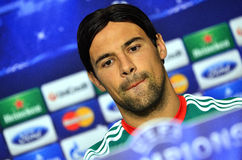 LEGIA WARSAW CHAMPIONS LEAGUE PRESS CONFERENCE Royalty Free Stock Photos