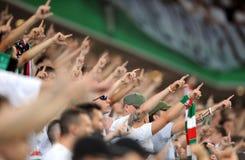 Legia Warsaw - FC Botosani -  Europa League Qualifications Royalty Free Stock Photos