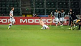 Legia Warsaw - FC Botosani -  Europa League Qualifications Royalty Free Stock Photo