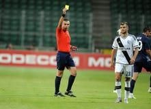 Legia Warsaw - FC Botosani -  Europa League Qualifications Stock Photo