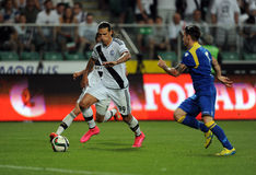Legia Warsaw - FK Kukesi - Europa League Qualifications Royalty Free Stock Photo