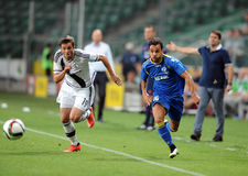 Legia Warsaw - FK Kukesi - Europa League Qualifications Royalty Free Stock Photography