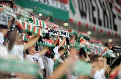 Legia Warsaw - FK Kukesi - Europa League Qualifications Stock Photo