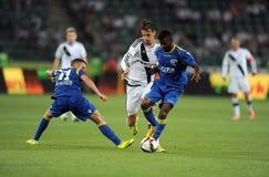 Legia Warsaw - FK Kukesi - Europa League Qualifications Royalty Free Stock Images