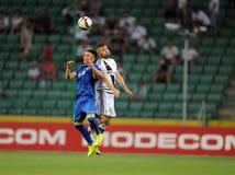 Legia Warsaw - FK Kukesi - Europa League Qualifications Royalty Free Stock Photos