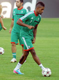 LEGIA WARSAW OFFICIAL TRAINING Stock Photography