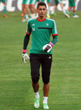 LEGIA WARSAW OFFICIAL TRAINING Royalty Free Stock Images