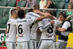 Legia Warsaw Royalty Free Stock Images