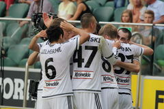 Legia Warsaw Royalty Free Stock Photos