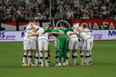 Legia Warsaw team Royalty Free Stock Image