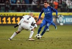 Legia Warschau - Lech Poznan Stockfotos