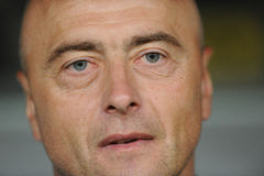 Legia Warshau - FC Botosani - Europa Ligakwalificaties stock foto's