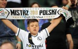 Legia Warszawa Europa liga kwalifikacje - FC Botosani - zdjęcia stock