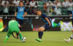 Legia Warszawa - FC Botosani - Europaligakvalifikationer royaltyfri foto