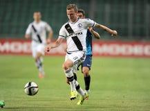 Legia Warszawa - FC Botosani - Europaligakvalifikationer arkivfoton