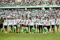 Legia Warszawa junior team Royalty Free Stock Photography